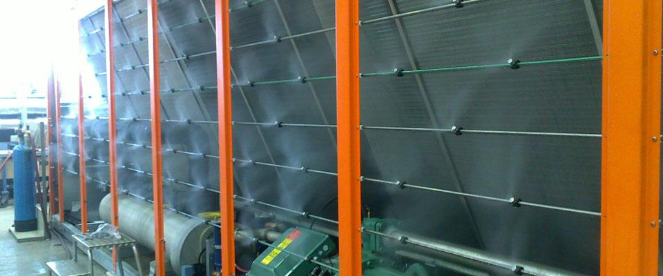 brumisation usine