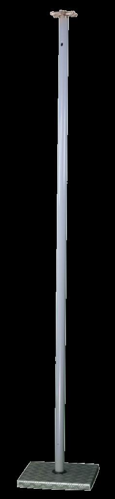 mât alu brumisation horizontale